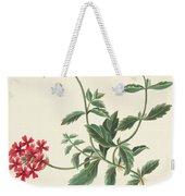 Scarlet Flowered Vervain Weekender Tote Bag
