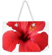Scarlet Hibiscus Tropical Flower  Weekender Tote Bag