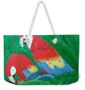 Scarlet Macaws  Weekender Tote Bag