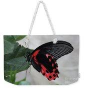 Scarlet Mormon Butterfly #2 Weekender Tote Bag