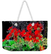 Scarlet Night Weekender Tote Bag