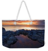 Scarlet Pools Weekender Tote Bag
