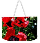 Scarlet Poppies Weekender Tote Bag