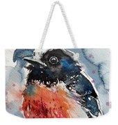 Scarlet Robin Weekender Tote Bag