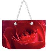Scarlet Rose Flower Weekender Tote Bag