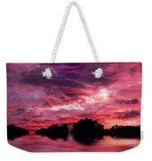 Scarlet Skies Weekender Tote Bag