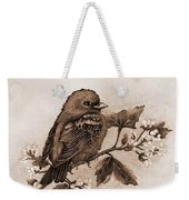 Scarlet Tanager - Tint Weekender Tote Bag