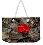 Scarlet Underfoot Weekender Tote Bag