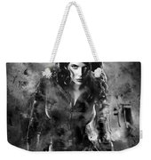 Scarlett Johansson Black Widow Weekender Tote Bag