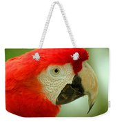 Scarlett Macaw South America Weekender Tote Bag