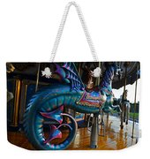Scary Merry Go Round Boston Common Carousel Weekender Tote Bag