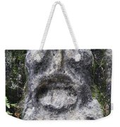 Scary Stone Head Weekender Tote Bag