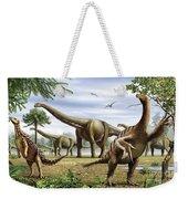 Scelidosaurus, Nothronychus Weekender Tote Bag
