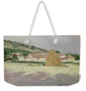 Scene At Giverny, 1890 Weekender Tote Bag