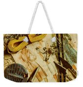 Scene From A Fifties Craft Room Weekender Tote Bag