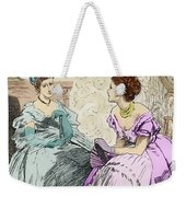 Scene From Anthony Trollope's Novel He Knew He Was Right Weekender Tote Bag