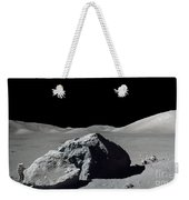 Scene From Apollo 17 Extravehicular Weekender Tote Bag