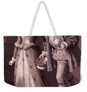 Scene From Much Ado About Nothing By William Shakespeare Weekender Tote Bag