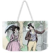 Scene From Sense And Sensibility By Jane Austen Weekender Tote Bag