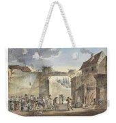 Scene In A Courtyard Weekender Tote Bag