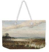 Scene Of Chiemsee, Moor Landscape Weekender Tote Bag