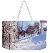 Scenery Around Timberline Ski Resort West Virginia Weekender Tote Bag
