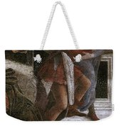 Scenes From The Life Of Moses Detail Alessandro Botticelli Weekender Tote Bag