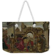 Scenes From The Life Of Saint Vincent Ferrer Weekender Tote Bag