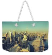 Scenic Aerial View Of Dubai Weekender Tote Bag
