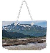 Scenic Alaska Color  Weekender Tote Bag