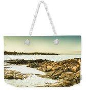 Scenic Coastal Dusk Weekender Tote Bag