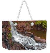 Scenic Gooseberry Falls Weekender Tote Bag