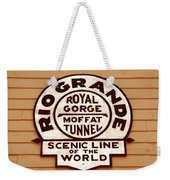 Scenic Line Of The World Weekender Tote Bag