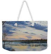 Scenic Overlook - Delaware River Weekender Tote Bag