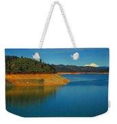 Scenic Shasta Lake Weekender Tote Bag