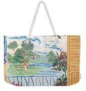 Scenic View From The Terrace Weekender Tote Bag