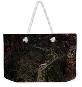 Scenic View Of Zion National Park Weekender Tote Bag