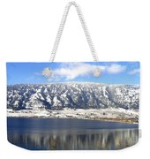 Scenic Wood Lake Weekender Tote Bag