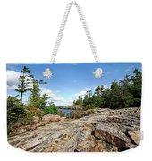 Scenic Wreck Island Weekender Tote Bag