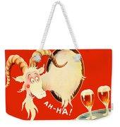 Schaefer Beer Vintage Ad Weekender Tote Bag