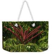 Schefflera Flower Weekender Tote Bag