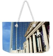 Schermerhorn Symphony Center Nashville Weekender Tote Bag by Susanne Van Hulst