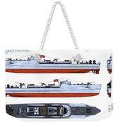 Schnellboot S100 Weekender Tote Bag