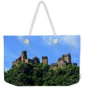 Schoenburg Castle Oberwesel Germany Weekender Tote Bag