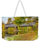 Schofield Bridge Over The Neshaminy Weekender Tote Bag