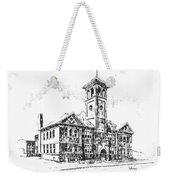 School Historic Philipsburg Montana Weekender Tote Bag