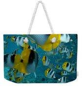 School Of Butterflyfish Weekender Tote Bag