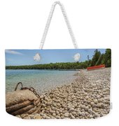 Schoolhouse Beach Washington Island Weekender Tote Bag