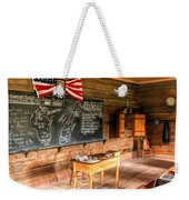 Schoolhouse Classroom At Old World Wisconsin Weekender Tote Bag
