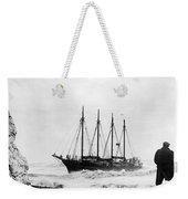 Schooner Shipwreck Weekender Tote Bag